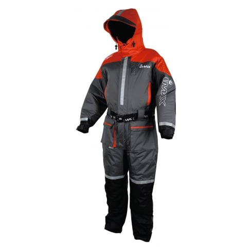 Imax Ocean Floatation Suit Grey/Red 1 Piece