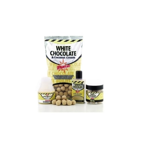 Dynamite Baits White Chocolate & Coconut Cream Shelf Life Boilies