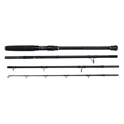 Penn Rampage II Boat Rod, 12/20, Warefare 20LW and Smooth 8 Braid Bundle