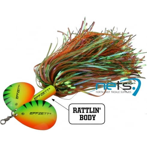 DAM Effzett Pike Rattlin Spinner