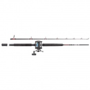 Muscle Tip Boat Combo 6ft or 7ft 2 pc 20-40lb Boat rod with GT345 Multiplier Boat Reel