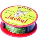 Hooklink braid Jackal Dark Silt 20lb