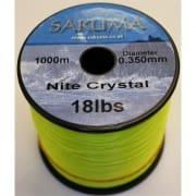 Nite crystal fishing line