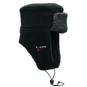 Fleece Korean Hat Black