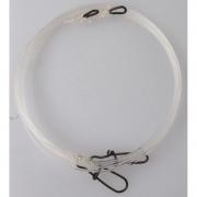 Flurocarbon Lure Trace 70cm 0.92mm Egg Ring / Needlesnap L 2 Pieces