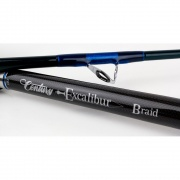 Excalibur Boat Braid Rods 12-20lb, 20-40lb and 20-50lb