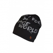 World Fishing Beanie Black