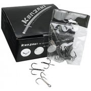 Kenzaki carbon steel treble hooks