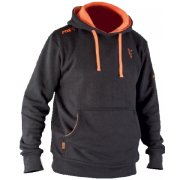 Black and Orange Fabricated Hoody
