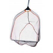 Pro Folding Rubber Large Mesh Landing Net