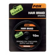 Edges Hair Braid x 10m Brown