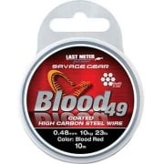 Blood 49 Red Wire Coated