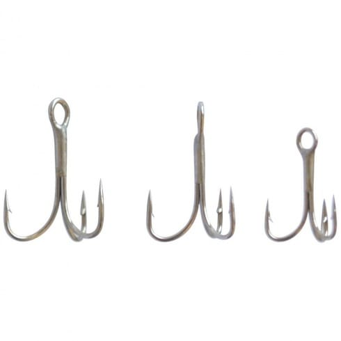 Drennan Super Carbon Trebles Barbed