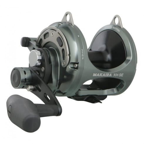 Okuma Makaira Big Game 2 Speed Fishing Reels SE Gunsmoke MK-8II & MK-10II
