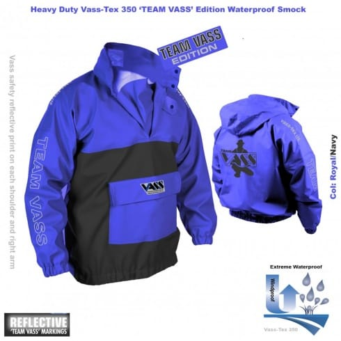 Vass Team 350 Smock Vass Tex, Heavy Duty, Waterproof