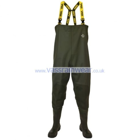 Vass 700 S5 Chest Wader 'Safety' Studded