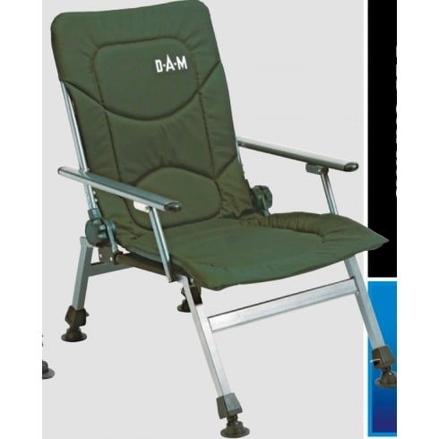 DAM Foldable Chair with Arm Rests