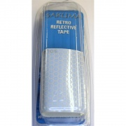 Rod tape reflective for fishing rods