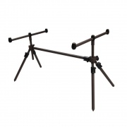 Retro Fishing Rod Pods, 3 Rod Pod