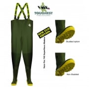 740 SuperNova PVC Chest Waders Studded