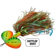 Effzett Pike Rattlin Spinner