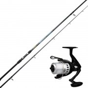 Ron Thompson EVO2 Spin Rod + Okuma Electron ELC-160 FD 1bb with 0.35 Line Combo